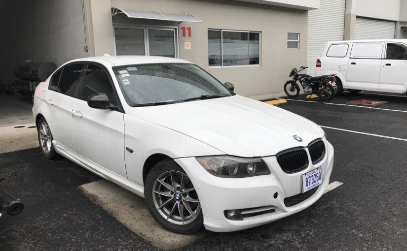 Informe de Avalúo BMW 320I, placa 873260-2